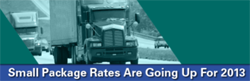 2013 Small Package Rate Increases